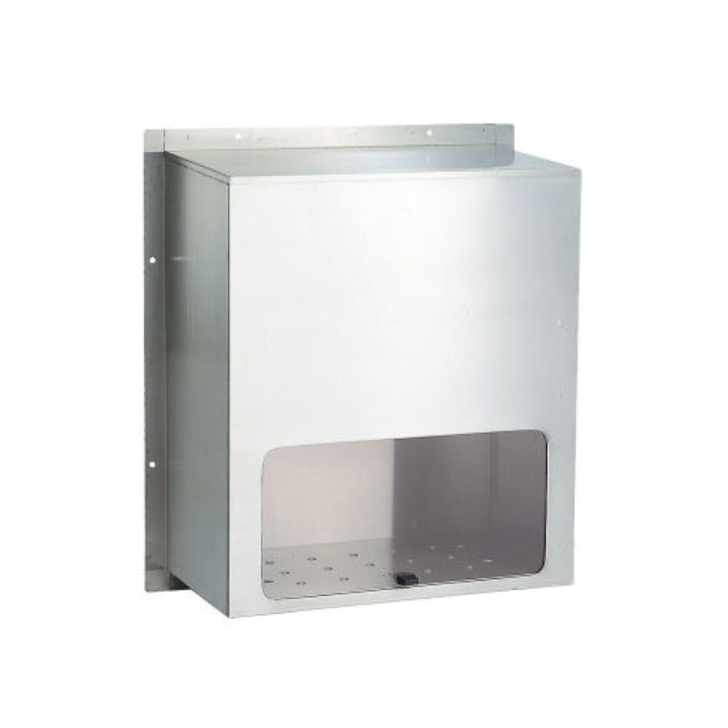 送料無料 HSK ハッピー金属 ファミール 671 ステンレス 内掛用 ポスト受箱 代引き不可