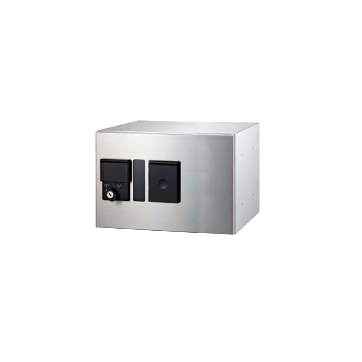 NASTA ナスタ KS-TLP280LB-S200N 前入前出 防滴タイプ 小型 宅配ボックス プチ宅 高さ200ミリ 幅280ミリ 奥行407ミリタイプ 捺印付 代引き不可