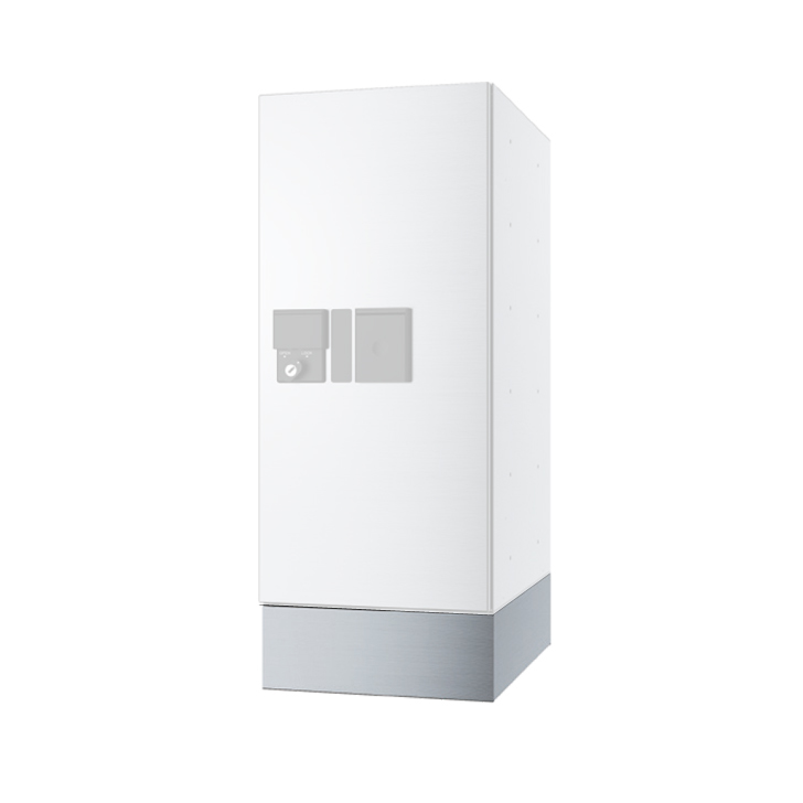 NASTA ナスタ KS-TLP280LB-SH100 小型 宅配ボックス プチ宅用 W280xD390用 幅木 代引き不可