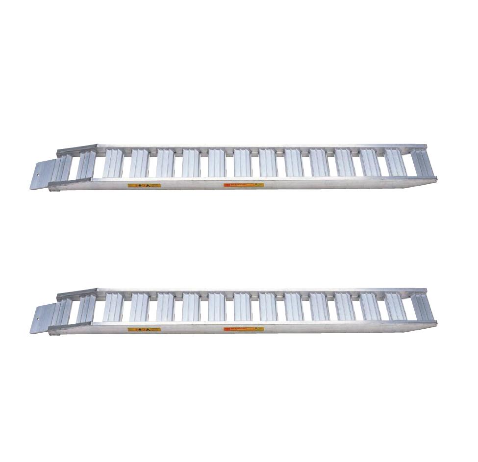 鉄シュー ゴムシュー兼用 [ギフト/プレゼント/ご褒美] 昭和ブリッジ 建設用アルミブリッジ 2本セット セーフベロ 毎日続々入荷 代引き不可 SH-全長300-40-2.2S