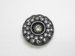 クリスタル ゴージャス お買得 高級品 ビジューボタン 装飾ボタン 全国どこでも送料無料 30 -30mmBBT-17032-09 ネコポス便OK 正規品送料無料