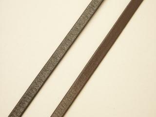 マート アクセサリー用 細幅 牛皮 激安通販 平 ネコポス便OK 黒 こげ茶 本革テープ-4mmRTH-L1205