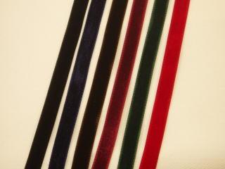 ベッチンリボン 黒 紺 こげ茶 エンジ メーカー直売 赤 両面ベルベットリボン-9mm グレー,ベージュ 送料無料 BRT-4041009 グリーン 10cm単位販売 ネコポス便OK