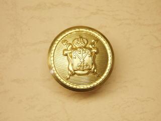 ゴールド 宅送 フロント メーカー公式 コート用 ネコポス便OK ブレザージャケット用メタルボタン-25mmMBOD-021G-25 定番