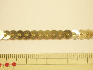 ゴールド フラット コスチューム 衣装 ファッション通販 スパンコールテープ-5mm■1m単位販売SPDG-1871 5PL-41 人気の定番 ネコポス便OK