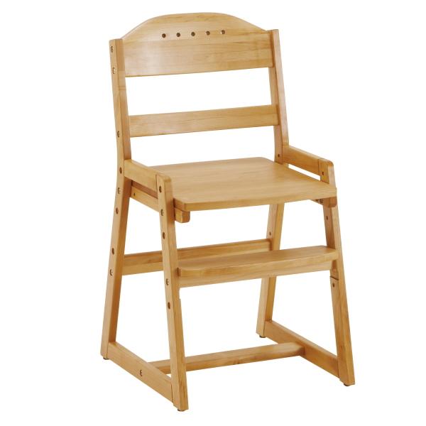 学習椅子 木製 子供 高さ調節 学習チェア 椅子 学習 勉強 子ども リビング学習 北欧 キッズ 学習イス ダイニングチェア 子供用 アルダー ウレタン塗装 ベージュ ナチュラル Cooper S1(クーパーS1)