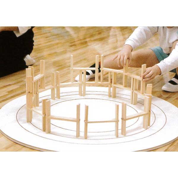 【知育玩具】≪くみっこ倶楽部≫創造積み木くみっこくみっこ円盤