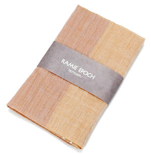 ≪山崎麻織物工房≫(能登上布)サマーストール ツートン柄Lサイズ