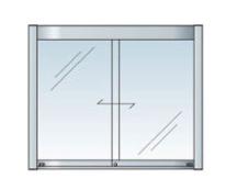 アルミ掲示板 掲示板 LED 壁付け 大型看板 ガラス掲示板 AGP-1210W【LED付き】