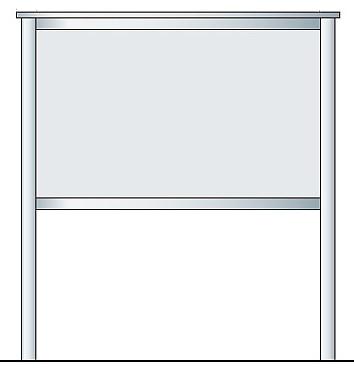 掲示板 アルミ掲示板 自立看板 大型看板 ガラス 掲示板 屋外 SBD-1510自立