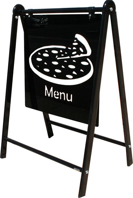 おしゃれ看板 スタンド看板 屋外用看板 店舗看板 B-445 シルエットサイン【デザイン作製】