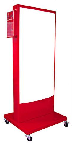 電飾看板 店舗用 屋外用 内照式看板 電飾スタンド 看板 ラック付 RS-03-RACK【本体のみ】
