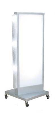電飾スタンド看板 内照式看板 店舗用看板 屋外用 電飾スタンドサイン 店舗看板 電飾看板 電飾スタンド 両面 LS-700【本体のみ】