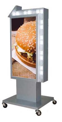 矢印看板 電飾スタンドサイン 電飾看板 点滅LED付 屋外用 LY-207【デザイン作製】