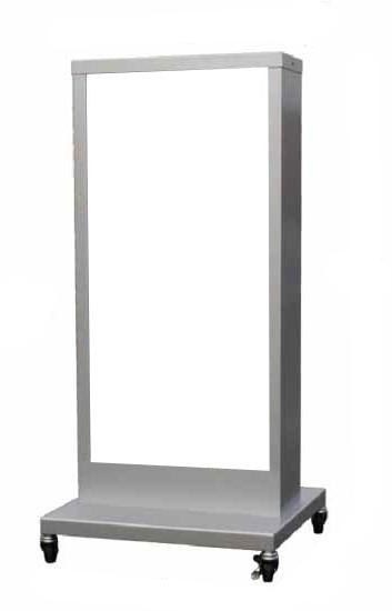 電飾看板 電飾スタンド看板 内照式看板 店舗用看板 電飾スタンドサイン スタンド看板 両面 電飾スクエアスタンダード スタンドサイン 屋外用 K-107【本体のみ】