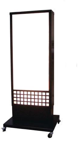 和風電飾スタンド看板 W-67【本体のみ】