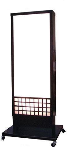 電飾看板 店舗用 内照式看板 和風 電飾スタンド 看板 W-68【本体のみ】
