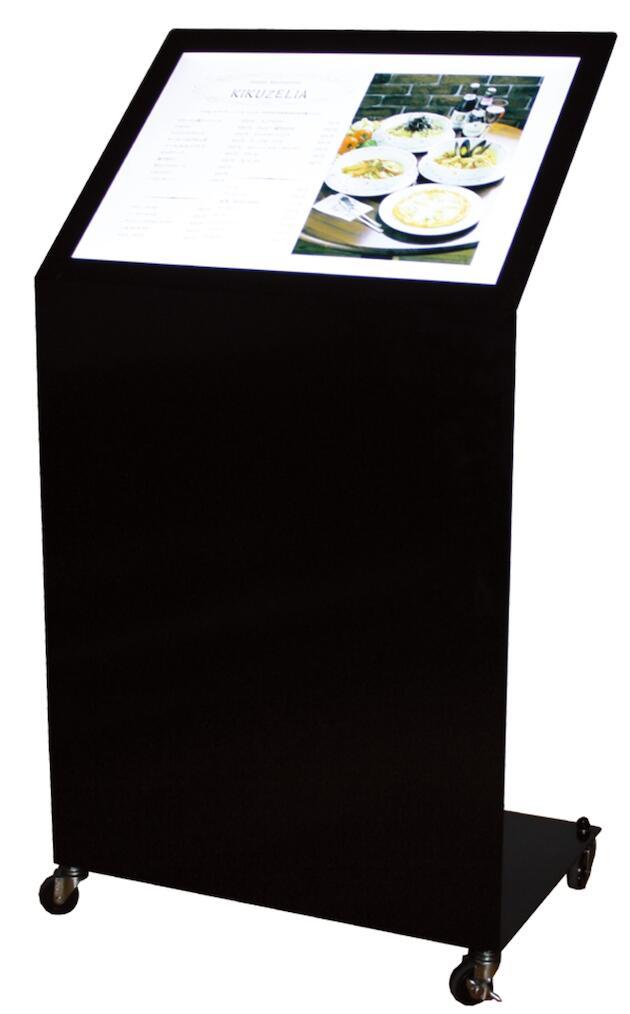 LD-202 メニュースタンド メニュー看板 屋外 店舗看板 飲食店 LED【本体のみ】