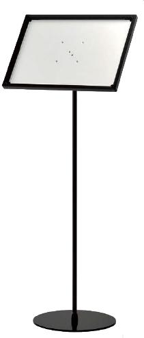 スタンド看板 ポールスタンド パネルスタンド サインスタンド フロアスタンド フロアサイン 案内板 店舗看板 2335 A3 屋内用【本体のみ】