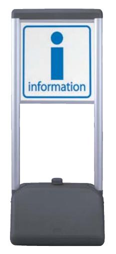 No.2《完成品・入稿データあり》 屋外用 樹脂性スタンド看板 YT-865A【データ入稿】