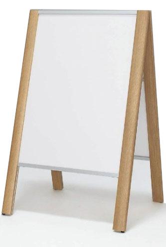 A型看板 木製風看板 スタンド看板 ポスタースタンド ポスター看板 店舗看板 屋内 両面 2399 A1【本体のみ】