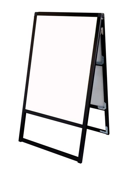 スタンド看板 立て看板 店舗看板 A型看板 ブラック 屋外 両面 BVASKAP-B2R【本体のみ】