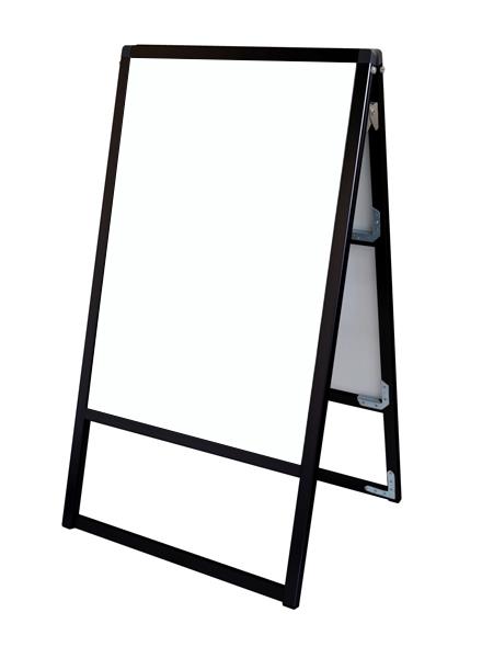 スタンド看板 立て看板 店舗看板 A型看板 ブラック 屋外 両面 BVASKAP-A1R【本体のみ】