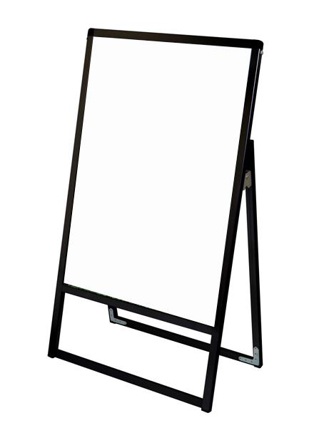 スタンド看板 立て看板 店舗看板 A型看板 ブラック 屋外 片面 BVASKAP-A1K【本体のみ】