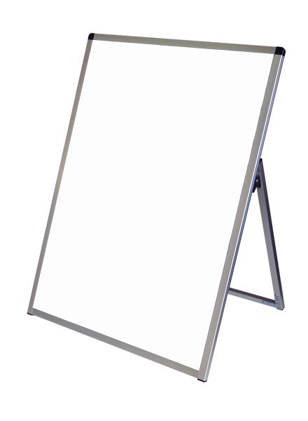 スタンド看板 立て看板 店舗看板 A型看板 シルバー 屋外 片面 VASKAP-B1LK【本体のみ】