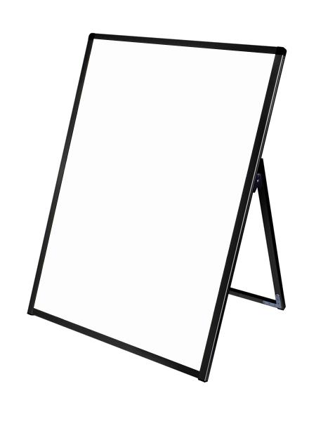 スタンド看板 立て看板 店舗看板 A型看板 ブラック 屋外 片面 BVASKAP-B1LK【本体のみ】