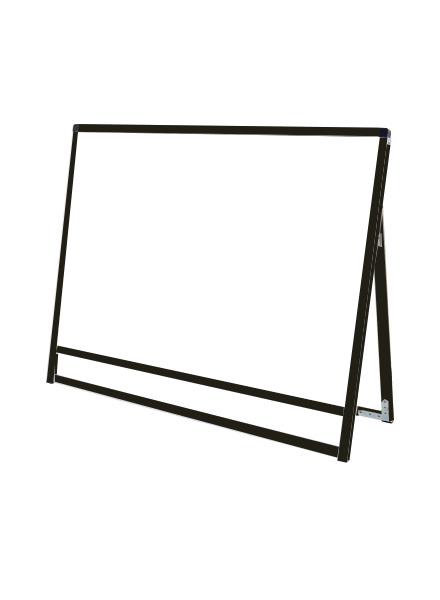 スタンド看板 立て看板 店舗看板 A型看板 ブラック 屋外 片面 BVASKAP-B1YLK【本体のみ】