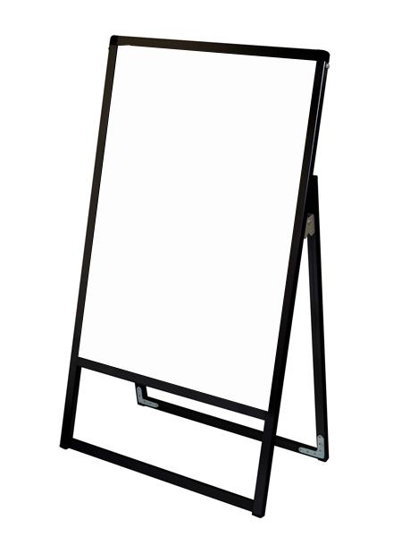 スタンド看板 立て看板 店舗看板 A型看板 ブラック 屋外 片面 BVASKAP-A0K【本体のみ】