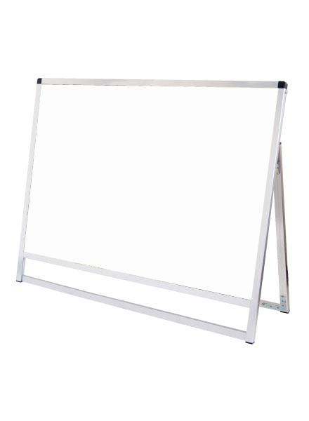 スタンド看板 立て看板 店舗看板 A型看板 シルバー 屋外 片面 VASKAP-A0YLK【本体のみ】