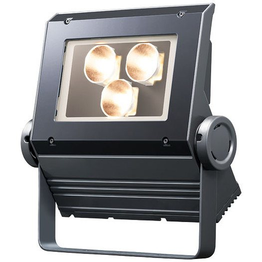 岩崎電気 ECF0798L/SAN8/DG(旧ECF1088LW/SAN8/DG) LED投光器 レディオックフラッドネオ 70クラス(旧100W) 狭角 電球色 ダークグレイ