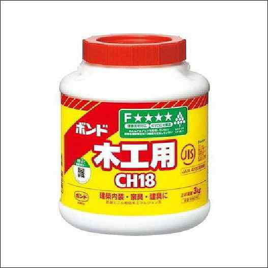 コニシボンド CH18 3kg #40140 6コ入【個人様・現場配達不可】
