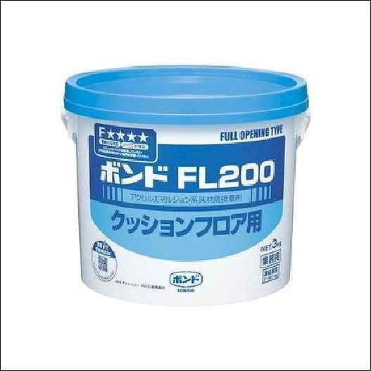 コニシボンド FL200 3kg #40447 6コ入(個人様宅・現場配達不可)