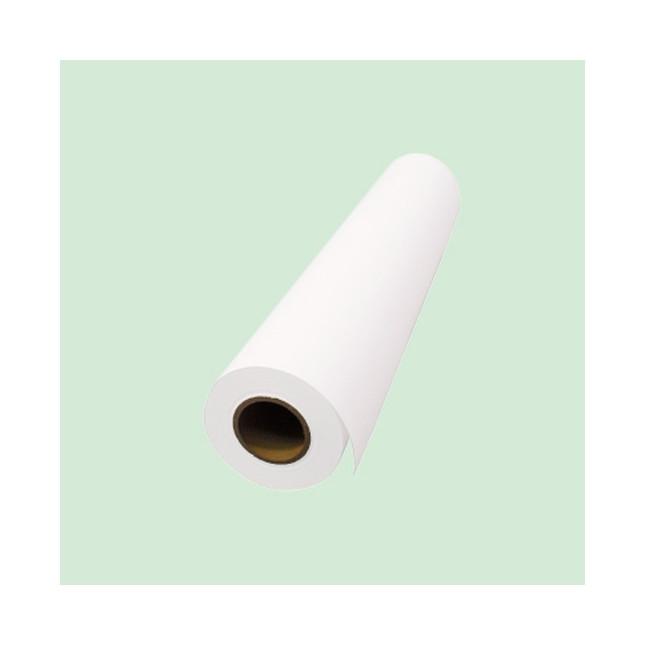 インクジェットメディア 白グロス塩ビグレー初期低粘着糊付(国産) 1100×50m