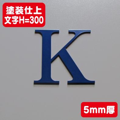 ステンレス切文字 塗装仕上げ 5mm厚 文字H=300