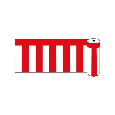 ビニール紅白幕 ロール60 368G-53229-2*