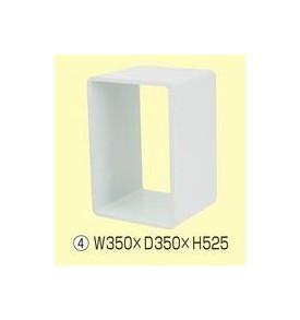 ディスプレイキューブ W350×D350×H525 513G-53510-4*/513G-53514-4*