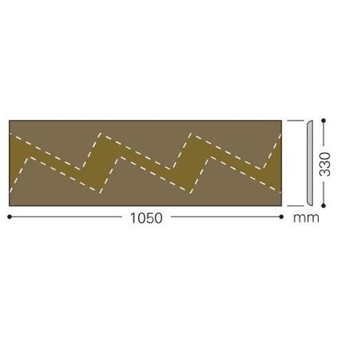 サンゲツ 巾木 ササラ巾木 330×1050 W-97-S~W-21-S(ケース売り/10枚)