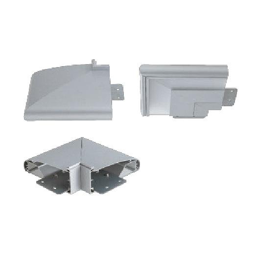 サンワ規格サイン LED照明 ポラックス4 90°コーナーユニット POLLUX4-COR90