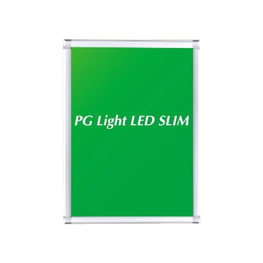 三和サインワークス ポスターパネル PGライトLEDスリム A2 コーナー角型 PH3330-S-C【送料別途】
