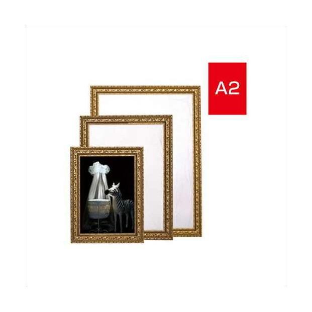 ポスターパネル・フレーム アールデコフレームゴールド A2 W512×H686 189G-55935-A2