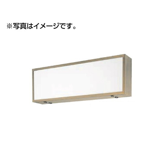 タテヤマアドバンス 壁面・吊下げサイン ADZ-220型(両面)ADZ900×300×220(60Hz)セット(シルバー) 5019696 【受注生産品】