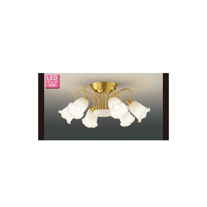 東芝ライテック LEDC88005-6G シャンデリア フェミニン・エレガント 6灯タイプ