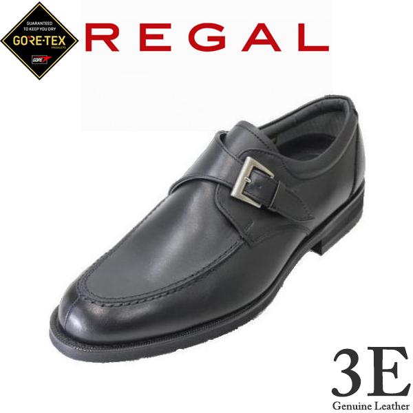 送料無料 REGAL(リーガル)GORE-TEX(ゴアテックス)REGAL 34NR BB 黒色(ブラック) 3E ユーチップ ビジネスシューズ メンズ 革靴 メンズ用(男性用)本革(レザー)日本製入学式 卒業式 コンビニ受取は別途プラス110円