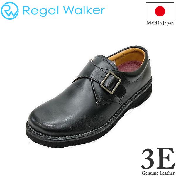 REGAL(リーガル) ウォーカーシューズ JJ25黒(ブラック)AG 3E革靴 メンズシューズ ビジネスシューズ メンズ用(男性用)本革(レザー)日本製【送料無料】【コンビニ受取は別途プラス110円】
