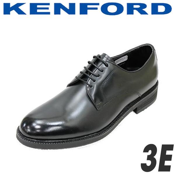 ケンフォード プレーントゥー KN34AAJ黒 ブラック 3E  REGALリーガルコーポレーション製 リーガルREGAL KENFORDシューズ REGAL 靴 就活 靴 新入社員 靴 入学式 靴