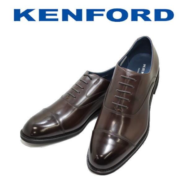 REGAL KENFORD(リーガル ケンフォード)ストレートチップKN82 ABJ ダークブラウン 3E ビジネスシューズ 革靴 メンズ用(男性用)本革(レザー) 靴【送料無料】【コンビニ受取は別途プラス110円】